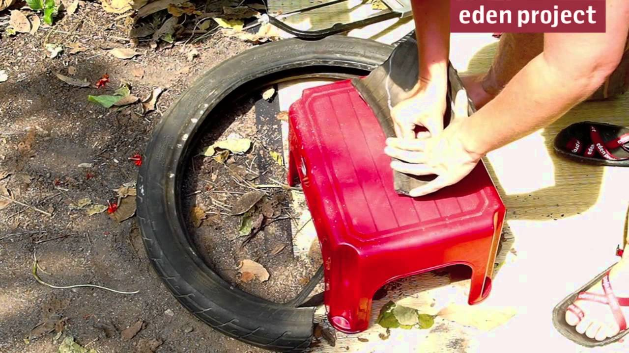 How to make sandals from an old tyre youtube how to make sandals from an old tyre solutioingenieria Images