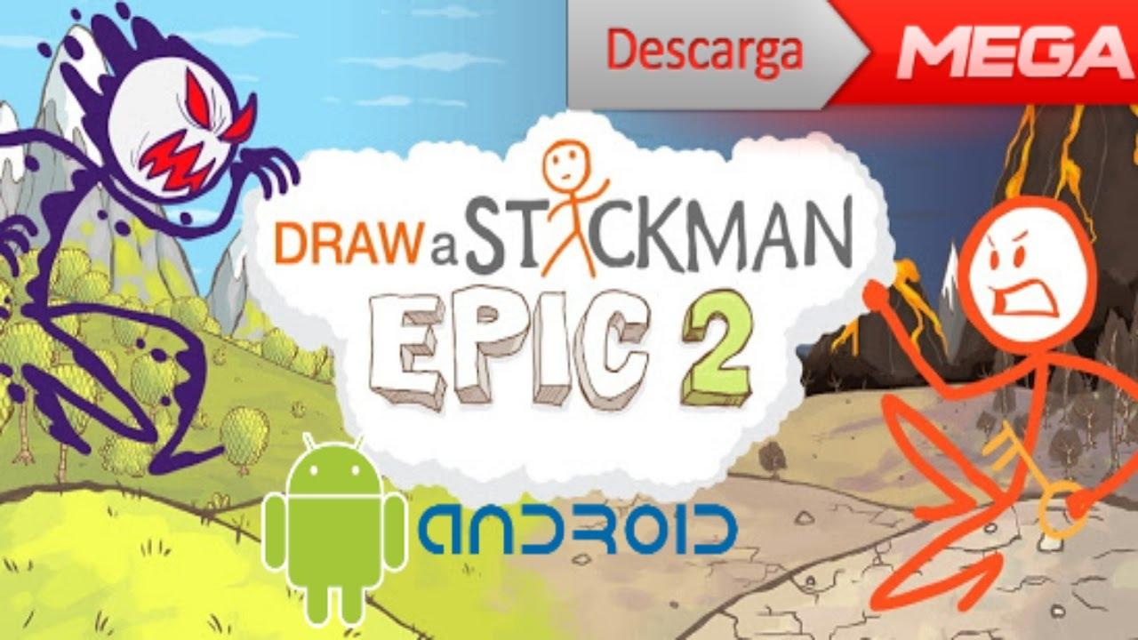 Descarga draw a stickman epic 2 apk   datos sd - YouTube