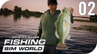 FISHING SIM WORLD #2 - FEELING WIE BEI TROPHY BASS!    PantoffelPlays