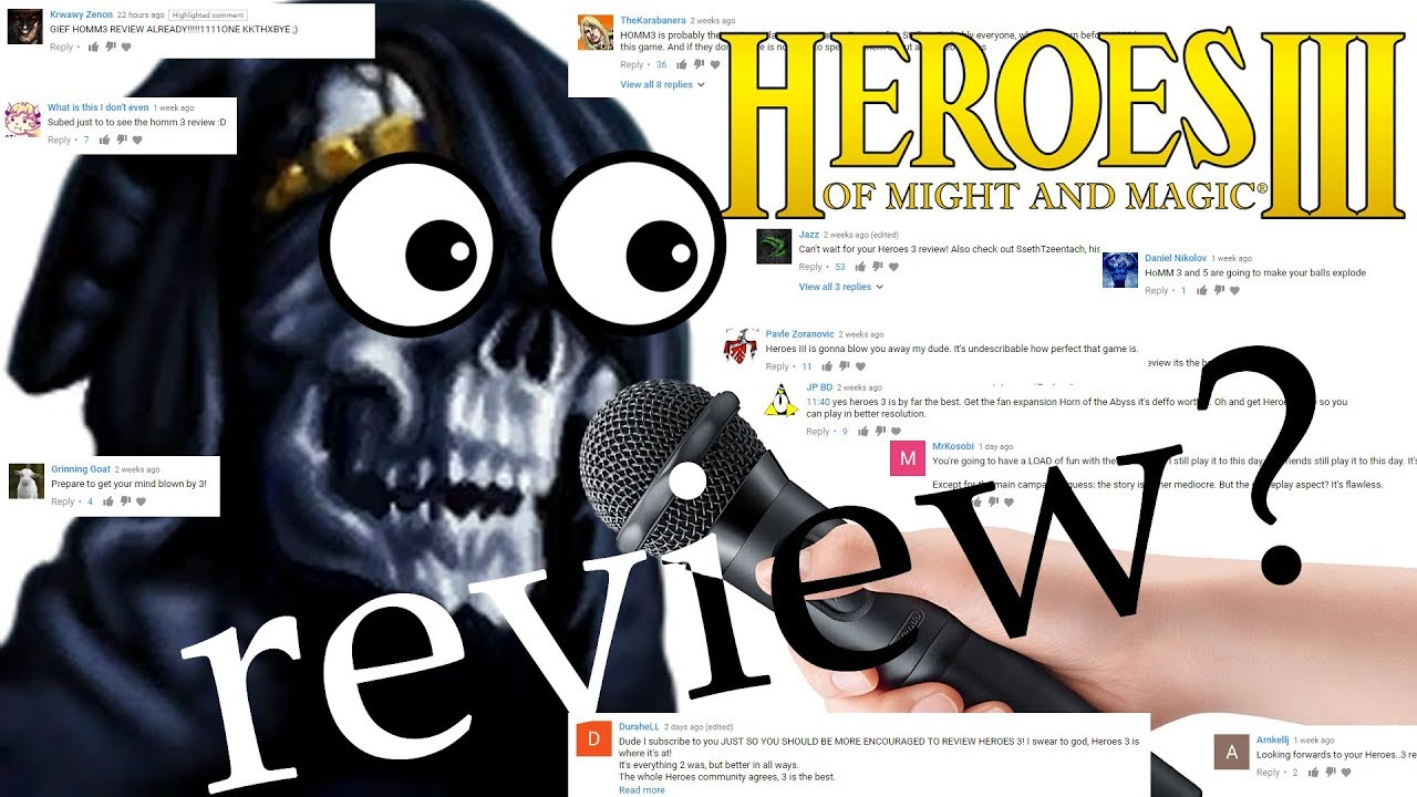 Heroes Of Might And Magic 3 Review Youtube