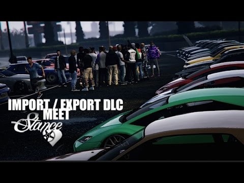 GTA 5 IMPORT/EXPORT Car Meet | After Movie | Stance Lovers Only | PS4 Rockstar Editor