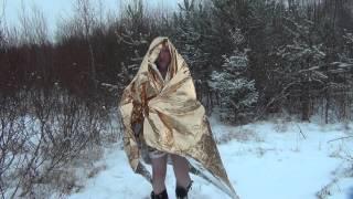 Одеяло спасательное.(Одеяло спасательное, Покрывало спасательное. Изотермическое покрывало., 2013-12-09T12:15:29.000Z)