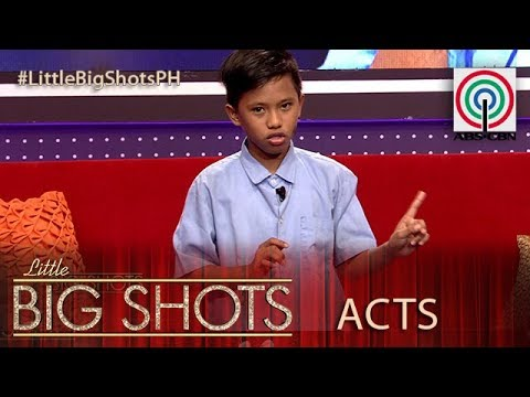 Little Big Shots Philippines: Claudio | 11-year-old Kampanya Kid