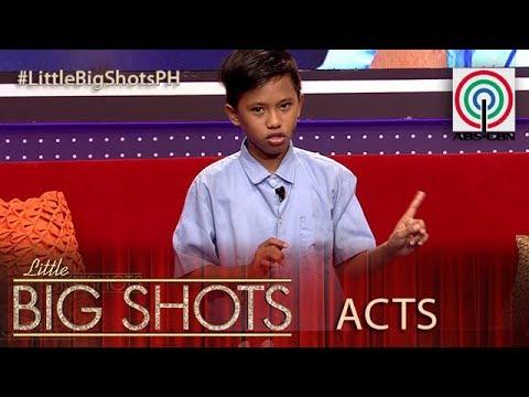 Little Big Shots Philippines: Claudio | 11-year-old Kampanya Kid