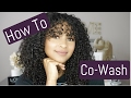 HOW TO: Co-Wash Curly Hair + Everything You NEED To Know! | lovekenziie