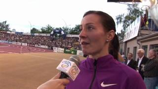 Denisa Rosolová - rozhovor, Zlatá tretra Ostrava 2010