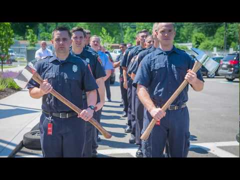 2017-06-21 Firefighter Recruit Class Graduates from Department of Fire Services' Springfield Campus