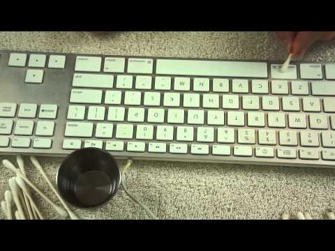 Keyboard Cleaning - ASMR