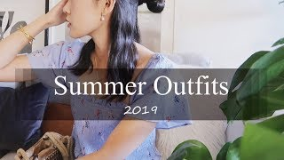 Summer Outfits 夏季日常穿搭 | 近期爱穿 | Madewell Everlane Uniqlo &Other Stories ASOS