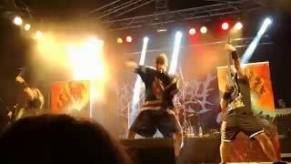 Katalepsy - In The Dark Of Stars & Blindead Sultan live at Deathfeast Open Air 2016