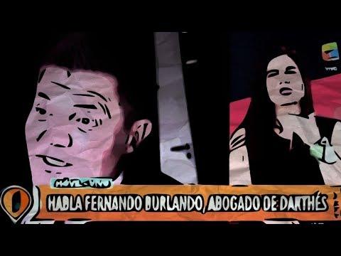 Abogado Burlando destroza a periodista feminista. Caso Darthes.