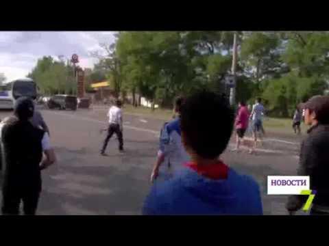 Đặc nhiệm Ukraine nổ súng trấn áp người Việt ở Làng Sen