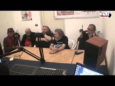 """Radio 100 passi. A Peppino la prima diretta da  """"Casa Badalamenti"""" (prima parte)"""