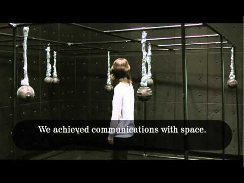 Sound Forest - An art installation of communications with space