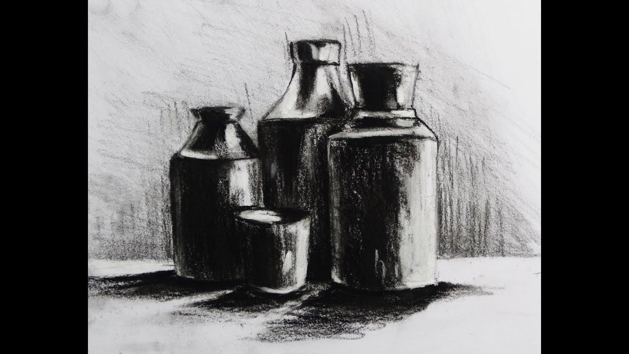 Drawing Still Life-how to draw still life ,pencil&pastel ...