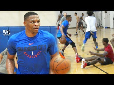 Russell Westbrook at Rico Hines UCLA Run!