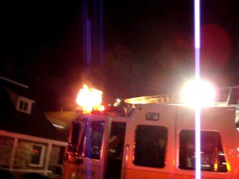Fishkill NY Rombout Fire Rear Pizza Phil 10-11-08
