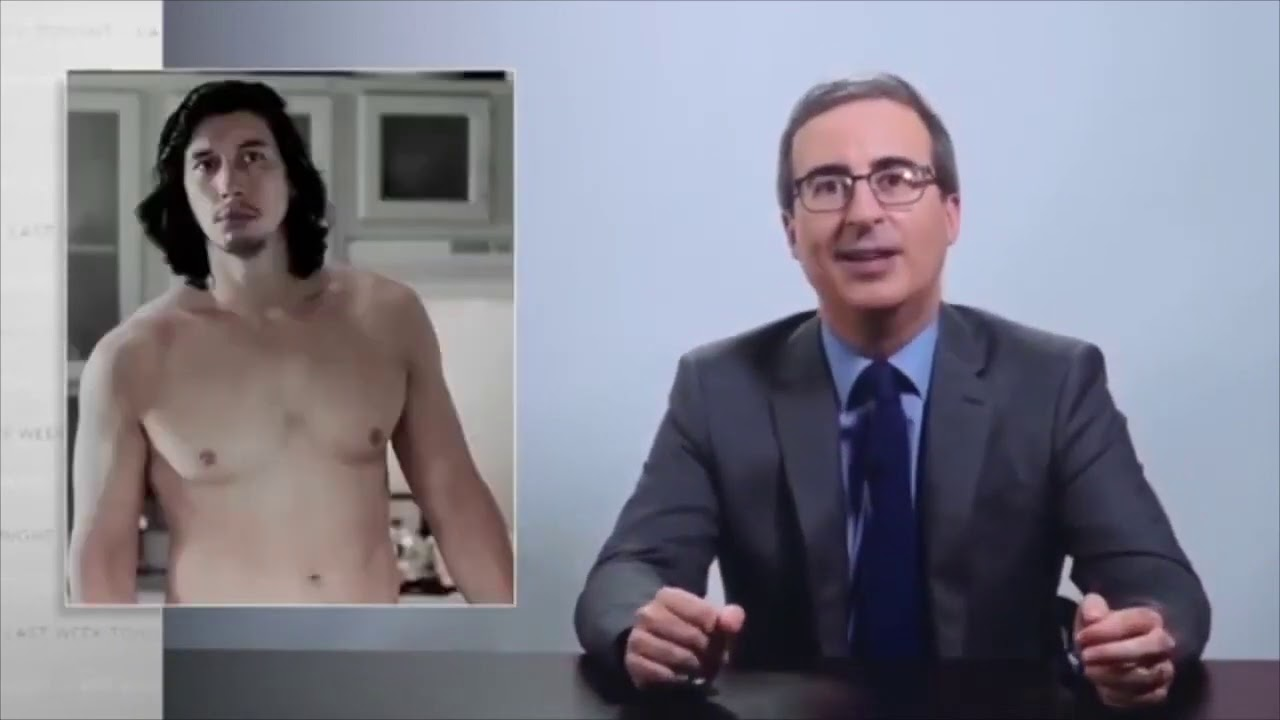 Star Wars' Adam Driver Hilariously Called Out John Oliver's ...