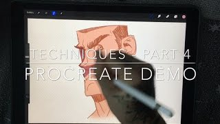 Techniques Part 4 - Procreate Demo