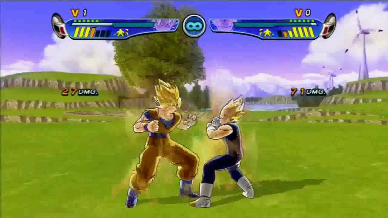 Dragon Ball Z Budokai Hd Collection Gameplay Youtube