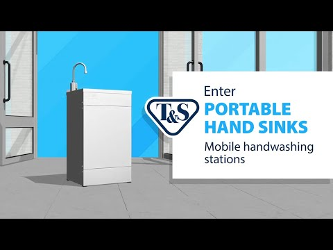 Discover T&S Portable Hand Sinks