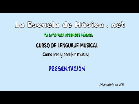 Como leer música - Curso de Lenguaje Musical -- Presentación