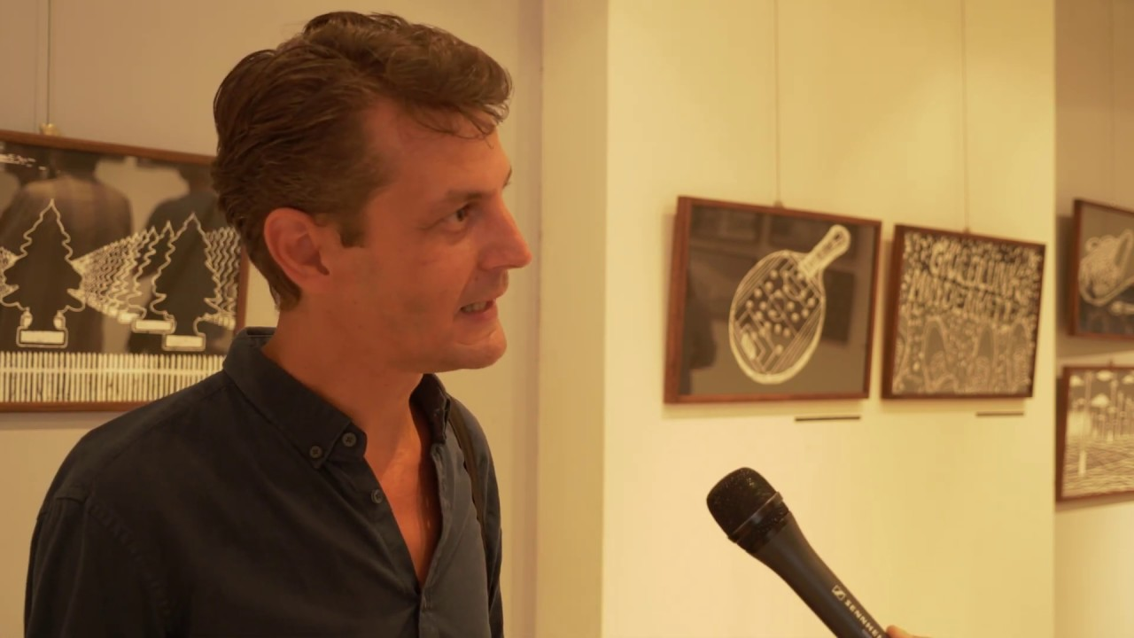 Fesztiválhíradó / KAFF 2019 / Csáki László Letörölt rajzok kiállítása