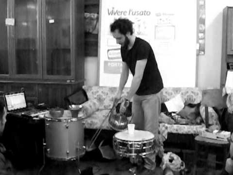 Alessandro Cau - incontro sul riciclo musicale e sull'improvvisazione (estrapolazione)