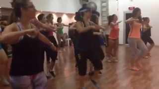 Juan Magan Feat. Belinda & Lapiz Conciente- Si No Te Quisiera Zumba® fitness class with Ayelet Naor