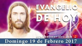 Evangelio de Hoy Domingo 19 de Febrero 2017  si te abofetean en la mejilla, presenta la otra
