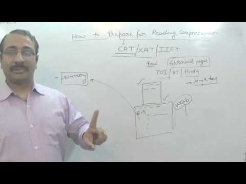 HOW TO IMPROVE READING COMPREHENSION FOR CAT, XAT, IIFT, MBA BY DINESH MIGLANI SIR