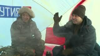 Блогер каналу «Кльова рибалка» В'ячеслав Бродників в прямому ефірі каналу «Якутія 24»
