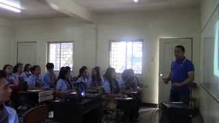 Filipino Training Consultant And Corporate Trainer Trains Pup Students On Speech Communication I