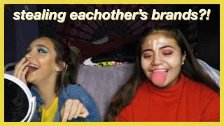 SWAPPING MAKEUP WITH MY BESTFRIEND