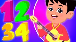 Ek Do Teen Chaar | Learn Numbers In Hindi | Hindi Number Song | Balgeet For Babies | Hindi Rhyme