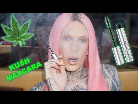KUSH INFUSED MASCARA WTF! Is It Jeffree Star Approved?