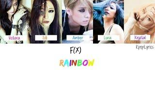 F(X) - Rainbow