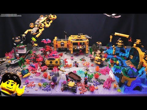 LEGO deep sea exploration scene tour! 🐠 New 2018 update 🦈