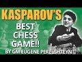 Kasparov's Best Chess Game At The Age of 12 by GM Eugene Perelshteyn