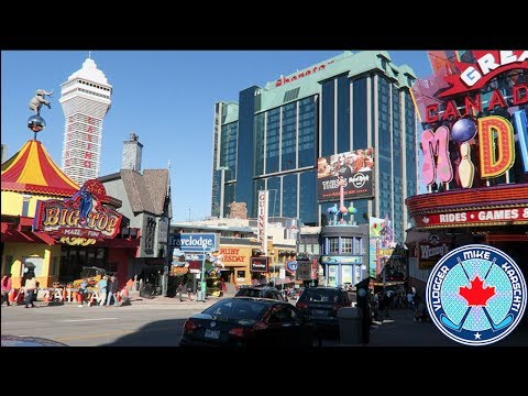 CLIFTON HILL!!! NIAGARA FALLS! CANADA! Nothin' Much Vlog 118