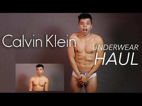 Calvin Klein Men's Underwear Haul / Try on and Giveaway