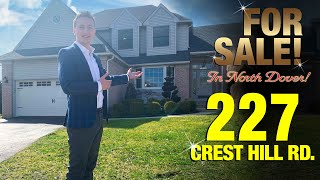 Toms River Home For Sale! 227 Crest Hill Road