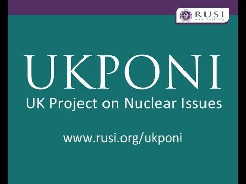 Lord Hutton on Nuclear Weapons and Proliferation