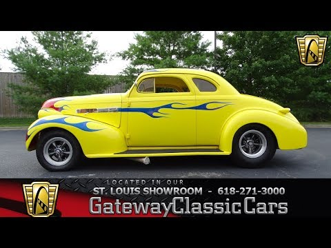 1939 Chevrolet Tudor Stock #7405 Gateway Classic Cars St. Louis Showroom