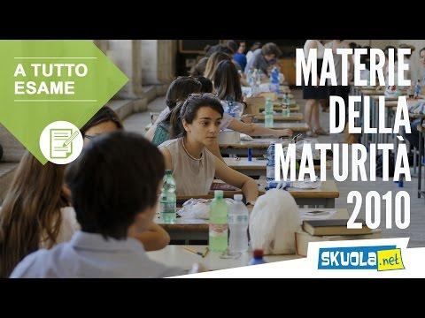 Materie Maturità 2010 (22018)