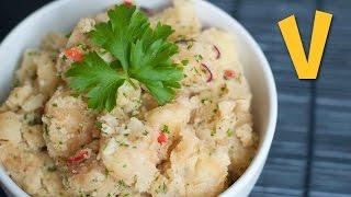 Crushed Potatoes   The Vegan Corner