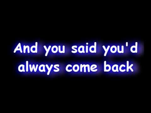 Goodbye For Now Lyrics by A Change Of Pace - Lyrics On Demand