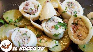 319 - Calamari ripieni alla tremitese...se un li mangi sei scortese (secondo a base di pesce facile)