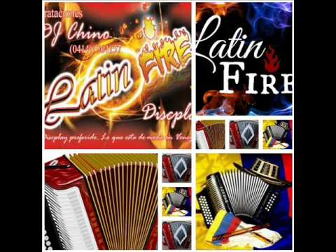 VALLENATOS BAILABLES LATIN FIRE DISCPLAY