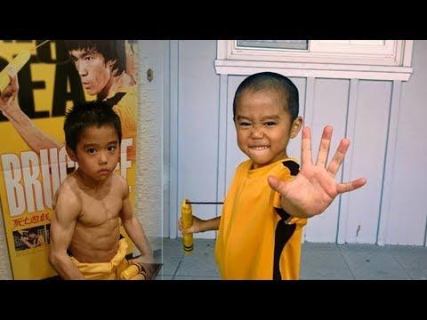 Miliki Bakat Bertarung Luar Biasa, Bocah Cilik Ini Seperti Titisan Seorang Bruce Lee!